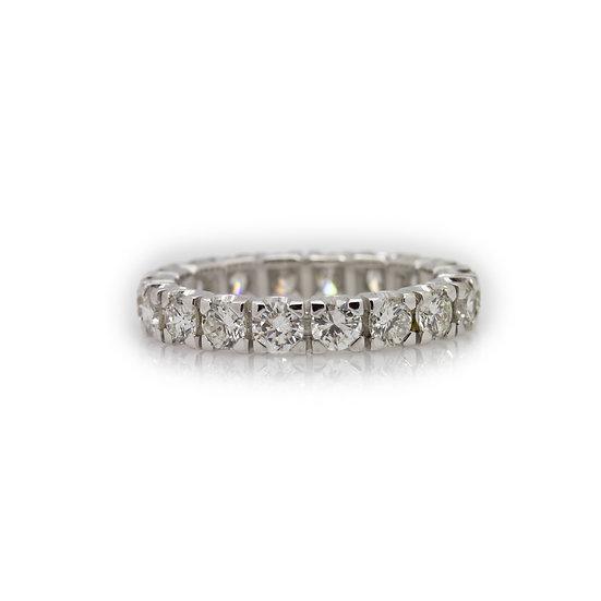2.70ct Diamond Eternity Ring view 1 Mulroy Antiques
