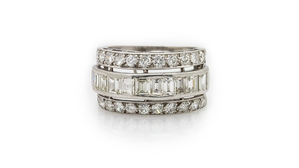 Diamond Band view front