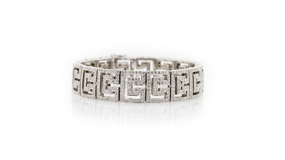 12ct Diamond Bracelet