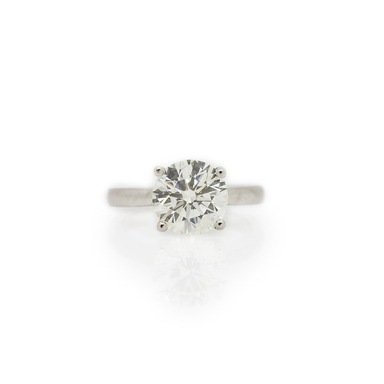 3.24ct Diamond Solitaire Ring view1