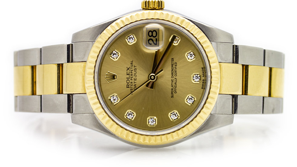 Rolex Oyster Perpetual Datejust Gents Wristwatch view 1