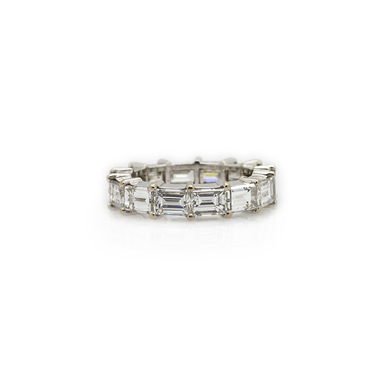 Baguette Cut Diamond Band Ring Mulroy Antiques View 1