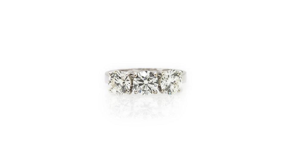 Trilogy Diamond Ring view 1