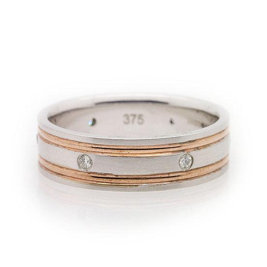 Gents Diamond Wedding Ring