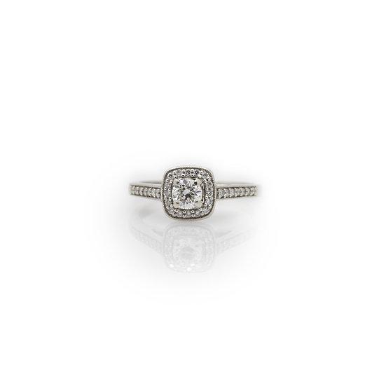 Platinum Diamond Ring view 1