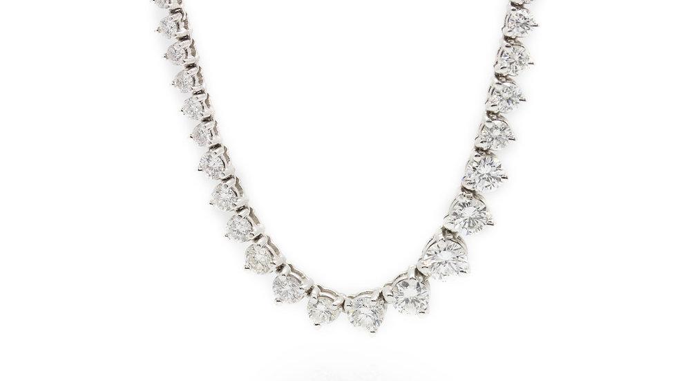 8 Carat Diamond Necklace