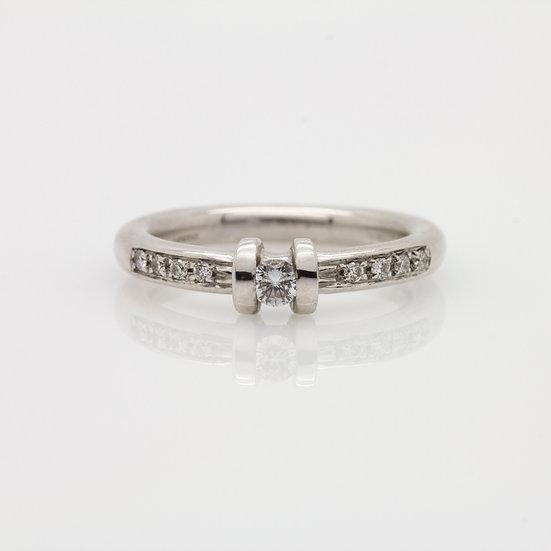 Italian Solitaire Diamond Ring