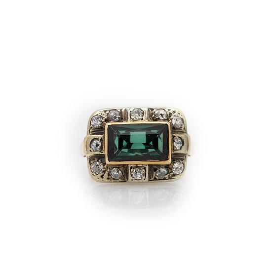 1.50 Carat Tourmaline Ring