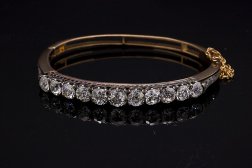 Antique Diamond Bracelet Fine Diamonds Metrocentre