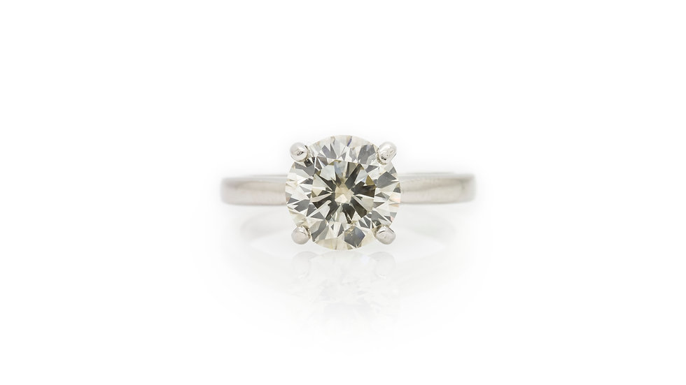2.80ct Diamond Solitaire Ring
