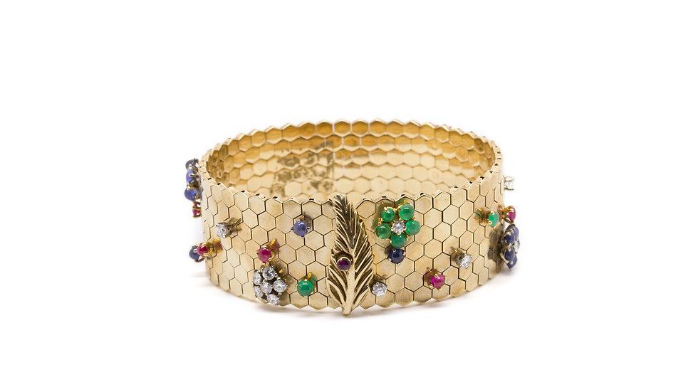 Garrard's bracelet 'Ludo Hexagone' bracelet