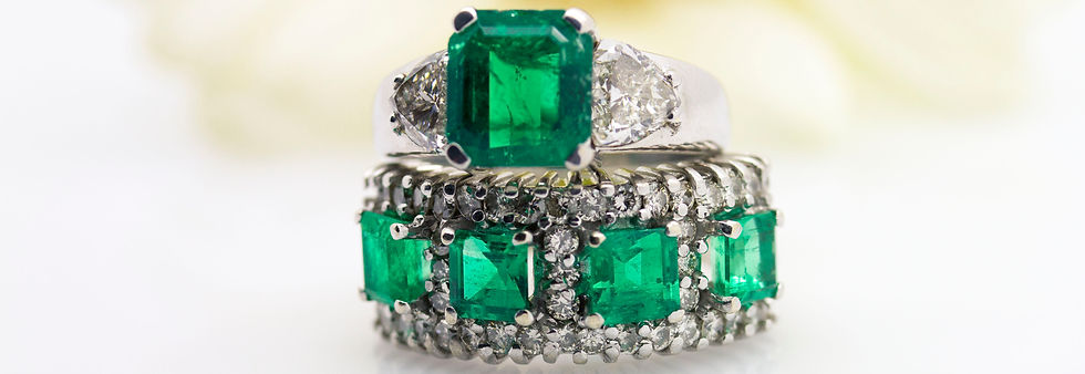 Grsovenor Jewelers emerald Collection