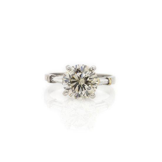 2.60ct Solitaire Diamond Ring