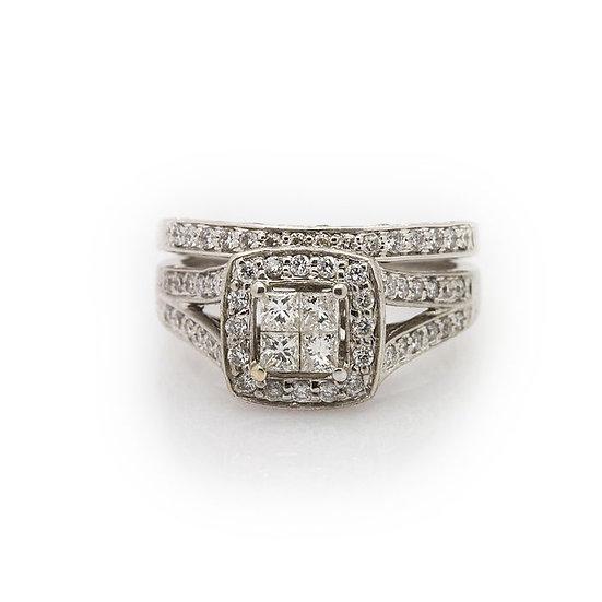 Diamond wedding Ring Set