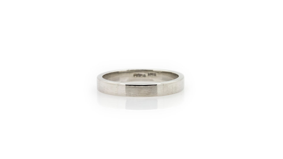 Platinum Band Ring