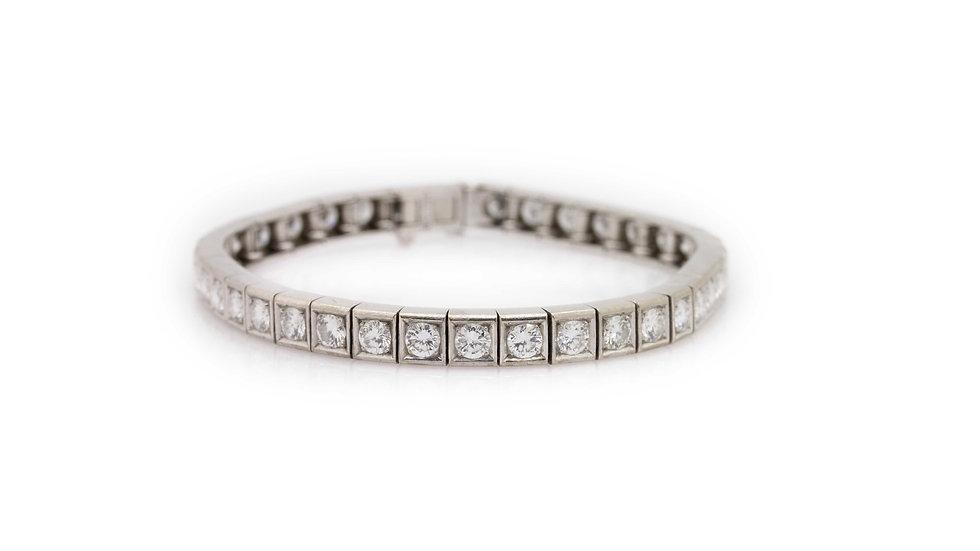 Diamond Tennis Bracelet view 1
