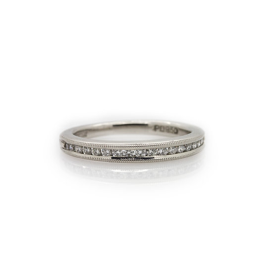 Scott Kay platinum diamond band