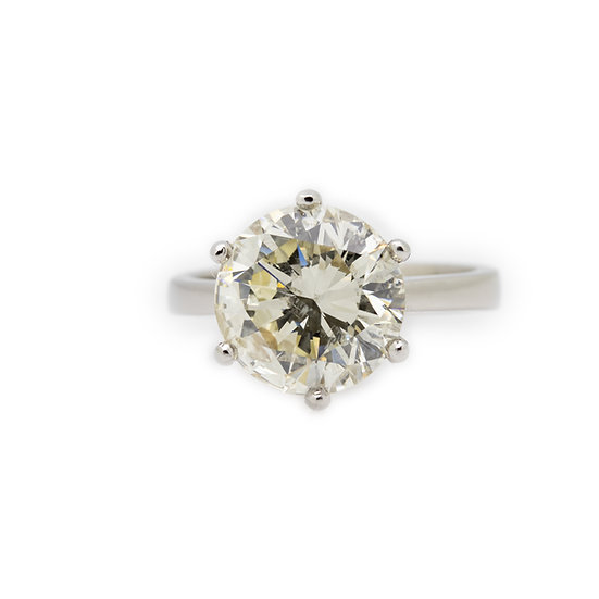 4.60ct Diamond Solitaire Ring Mulroy Antiques View 1
