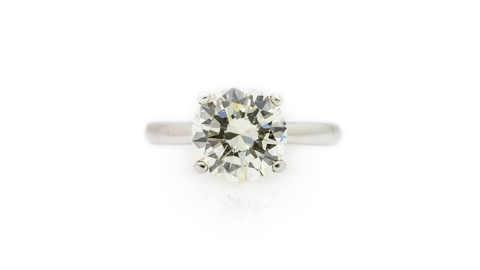 3.60ct Diamond Solitaire Ring view 1