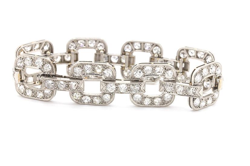 1930's Platinum Art Deco Bracelet