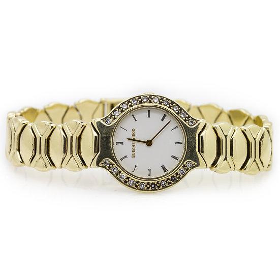 Buecie Girod 9ct Gold Watch view 1