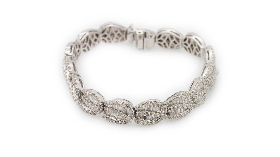 9.11 Carat Diamond Bracelet