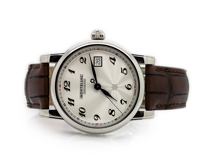 Montblanc Gents Watch face view