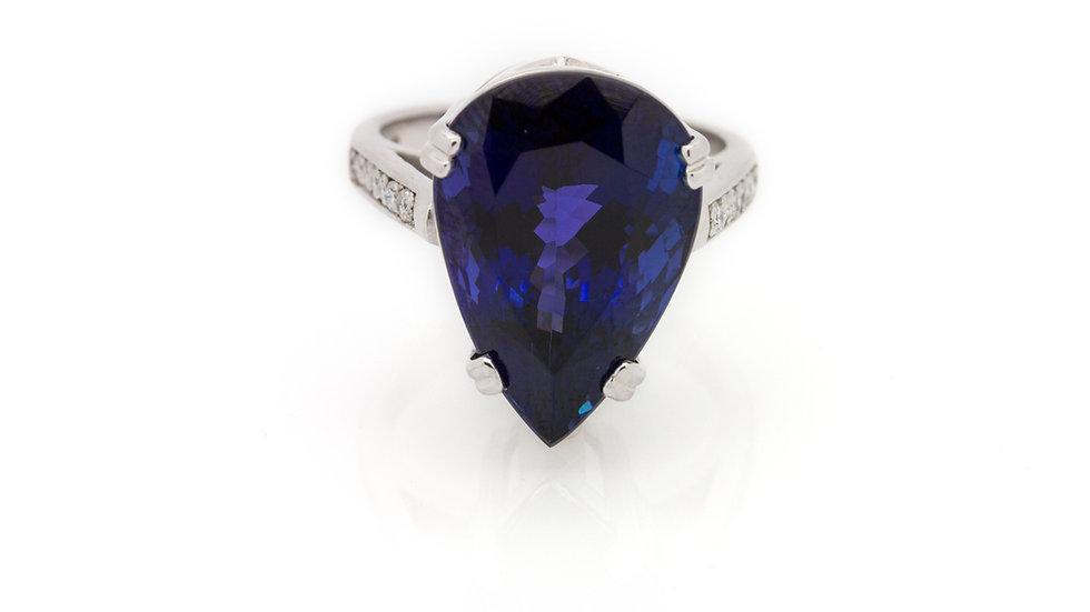16.69ct Tanzanite Ring