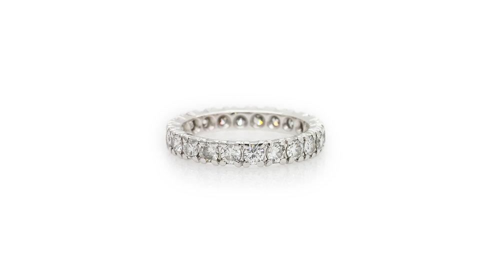 Diamond Eternity Ring Grosvenor Jewellers view 1