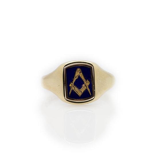 Masonic Swivel Ring front view