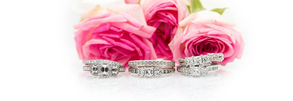 Grosvenor Jewellers Solitaire diamond rings