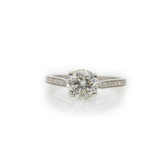1.50ct Platinum Diamond Solitaire
