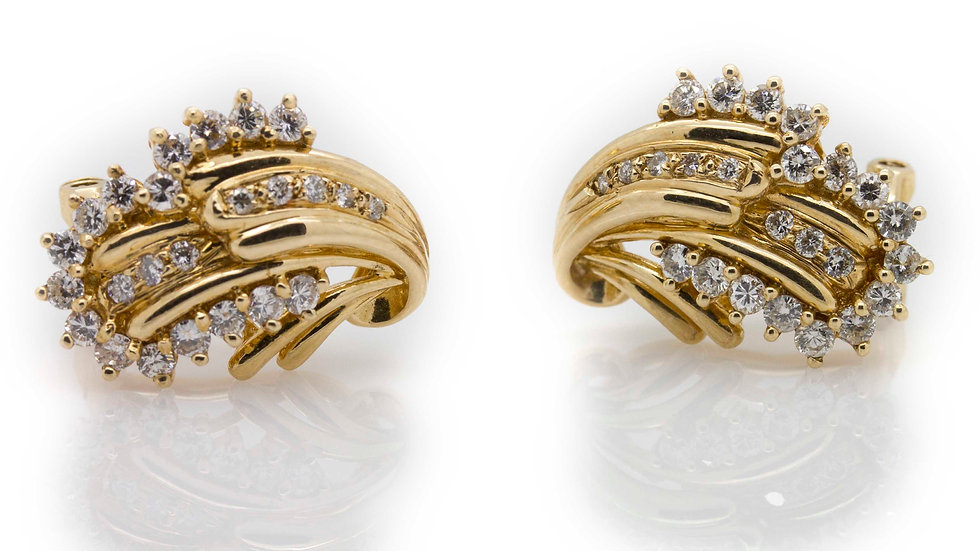 1.12ct Diamond Earrings