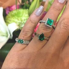 Emerlad Rings