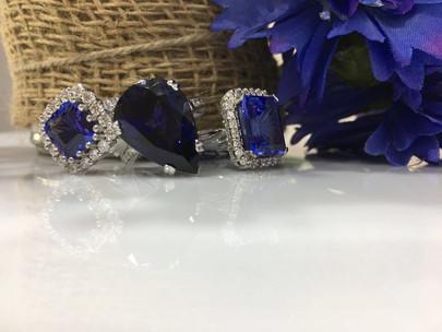 Tanazinte and diamond