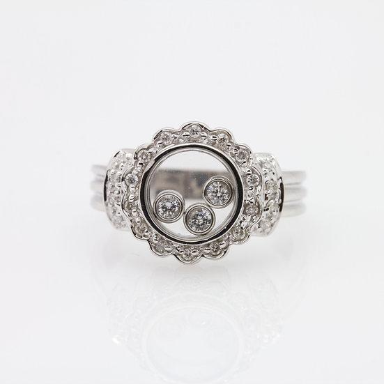 Diamond Window Ring