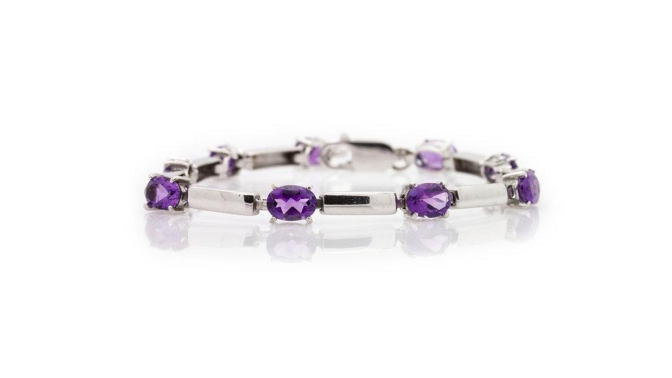 Amethyst Bracelet view 1