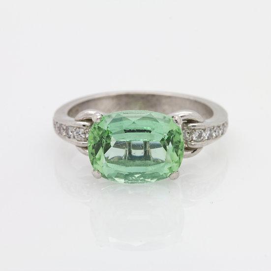 Green Olivine Ring