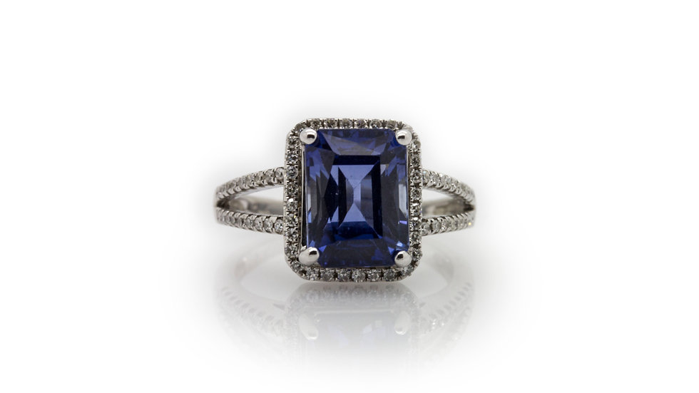 Tanzanite Ring view 1