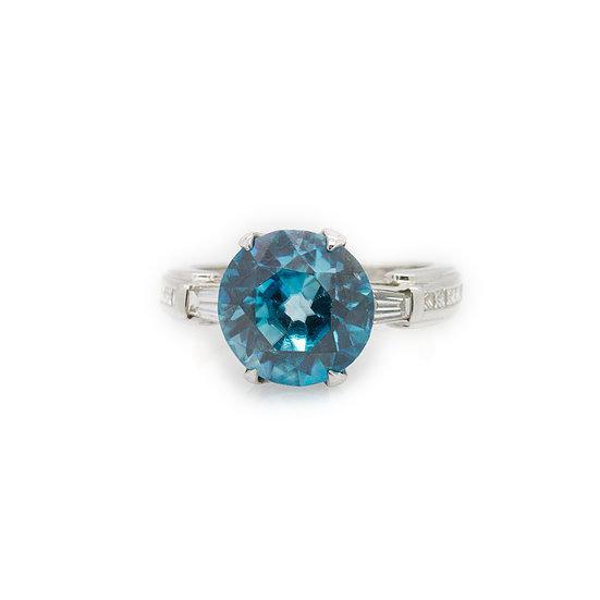 Zircon & Diamond Ring