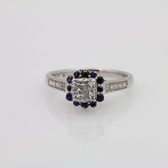 Diamond & Sapphire Ring