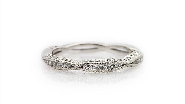 Tacori Eternity Ribbon-twist Ring