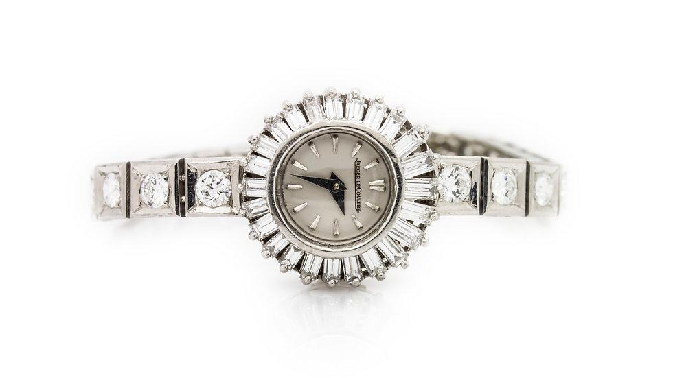 Jaeger Le Coultre Diamond Watch
