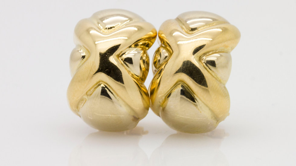Clip on Gold Earrings