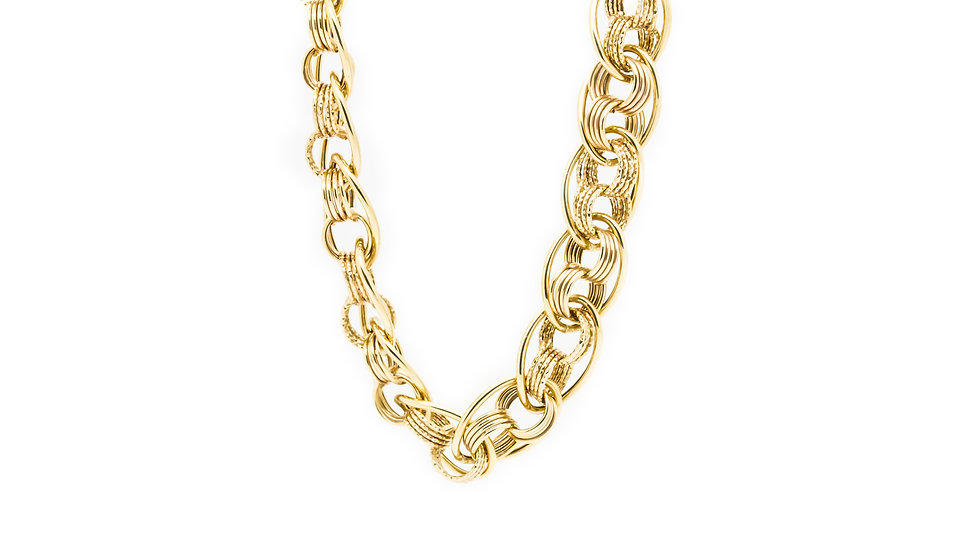 Gold Chain chunky 9ct gold