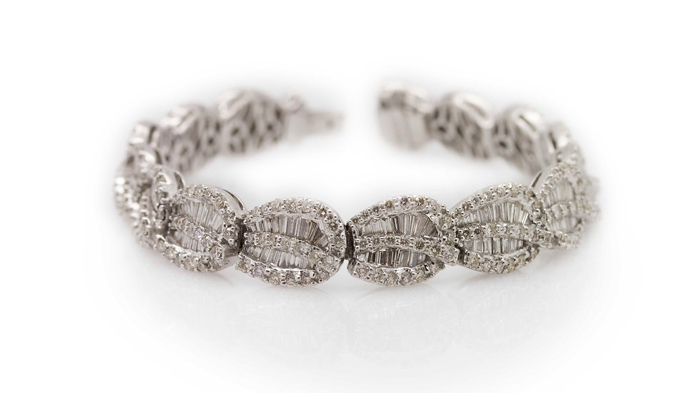 9.11ct Diamond Bracelet