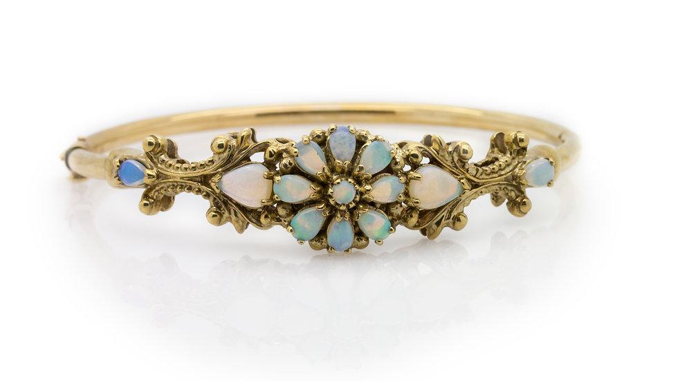Vintage Opal Bangle
