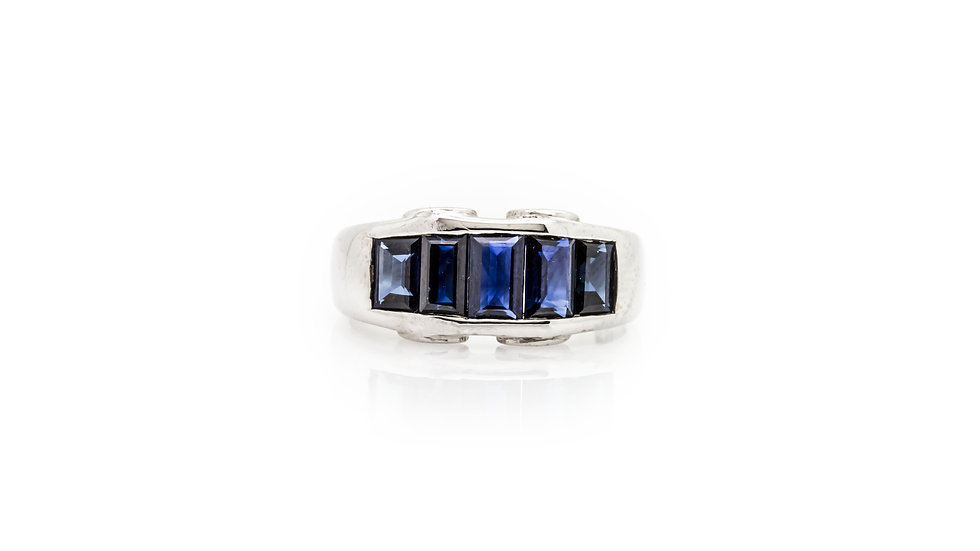 Gent's Sapphire Ring