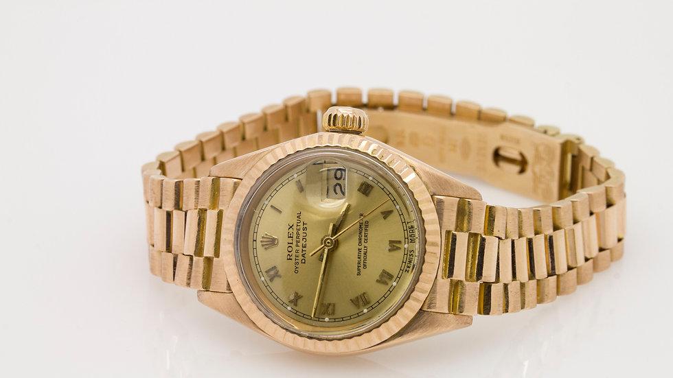 Gold Ladies Rolex