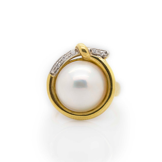 Cocktail Pearl Ring